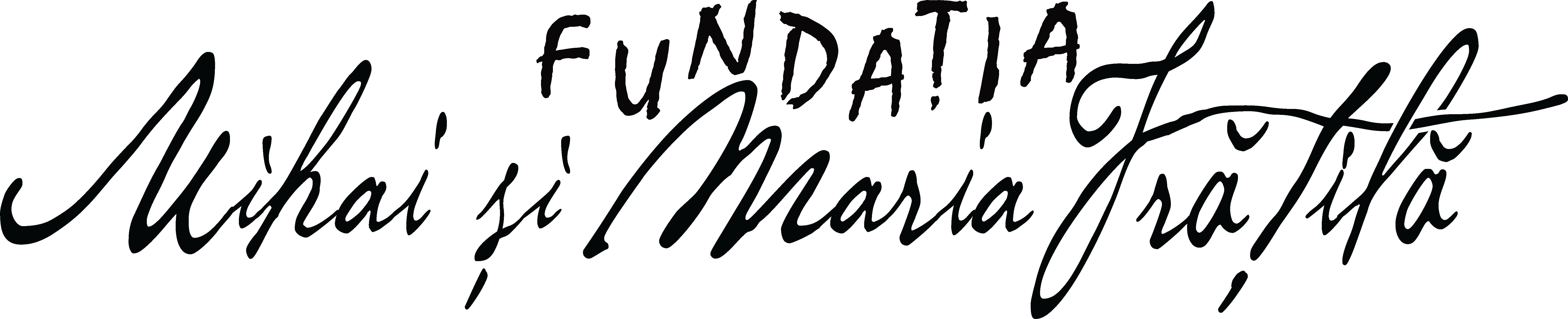 Fundația Mihai și Maria Frățilă logo