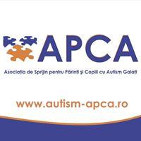 Asociatia de Sprijin pentru Parinti si Copiii cu Autism Galati - APCA Galati logo