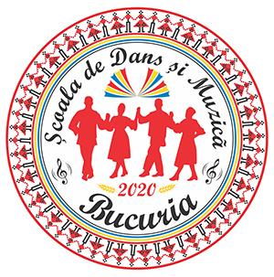 ASOCIATIA CULTURALA DE DANS SI MUZICA DIN BUCURESTI -ANSAMBLUL FOLCLORIC BUCURIA, SCOALA DE DANS SI MUZICA BUCURIA logo