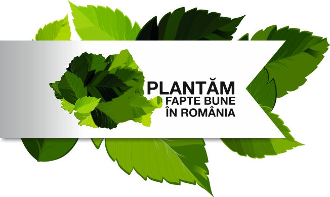 Asociatia EcoAssist, iniţiativa Plantăm fapte bune în România logo