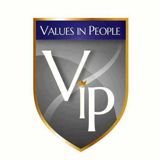 VIP - VALUES IN PEOPLE logo