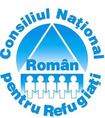 Consiliul Naţional Român pentru Refugiaţi logo