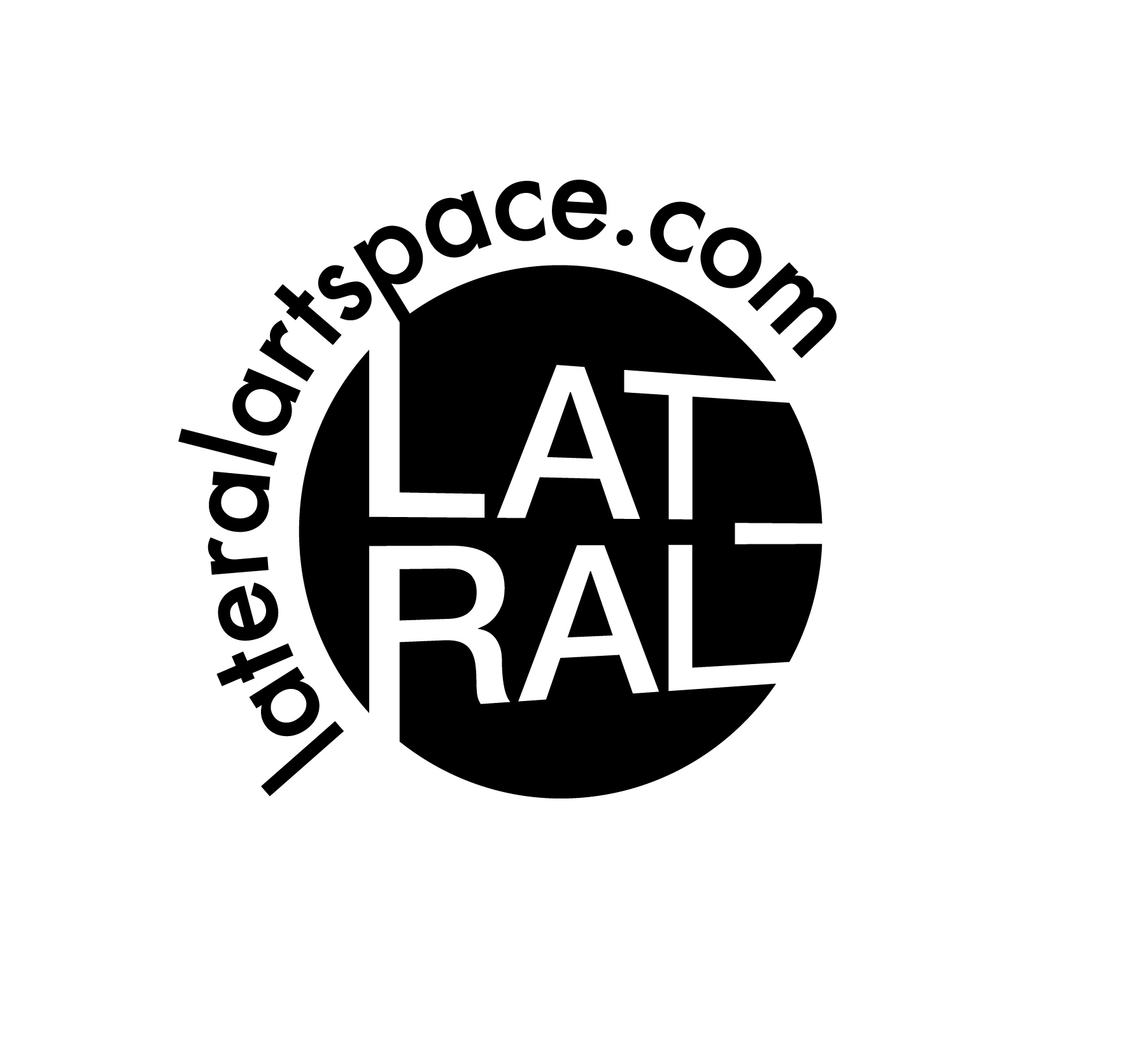 Lateral ArtSpace logo