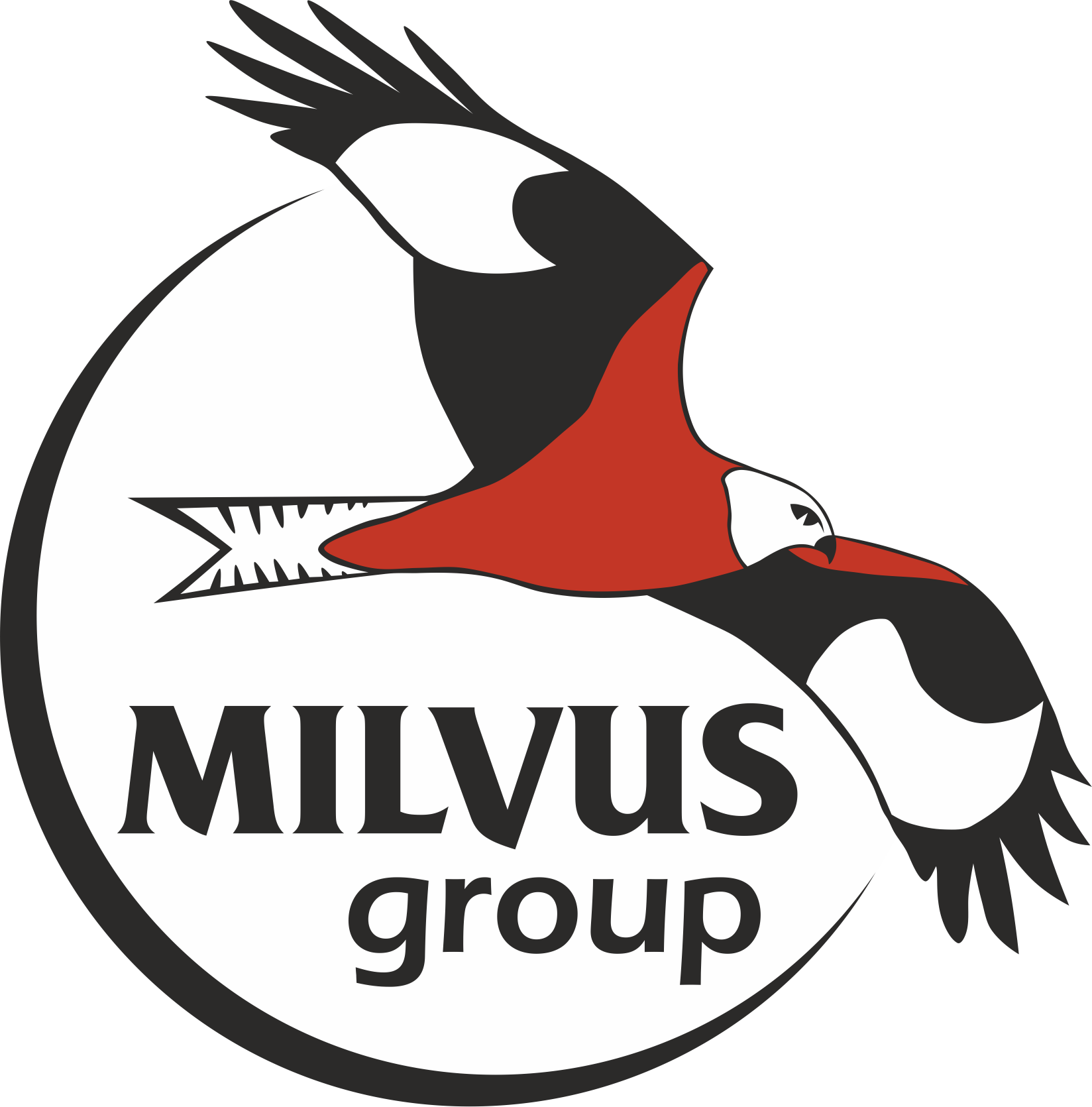 "Asociația ""Grupul Milvus"" logo"