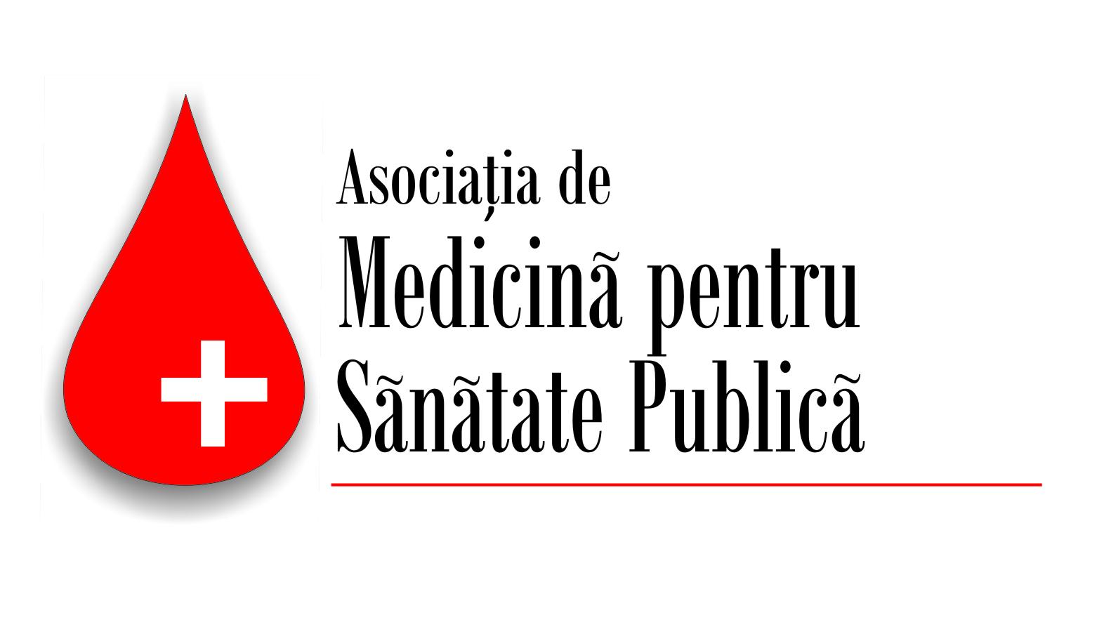 ASOCIAȚIA DE MEDICINĂ PENTRU SĂNĂTATE PUBLICĂ  logo