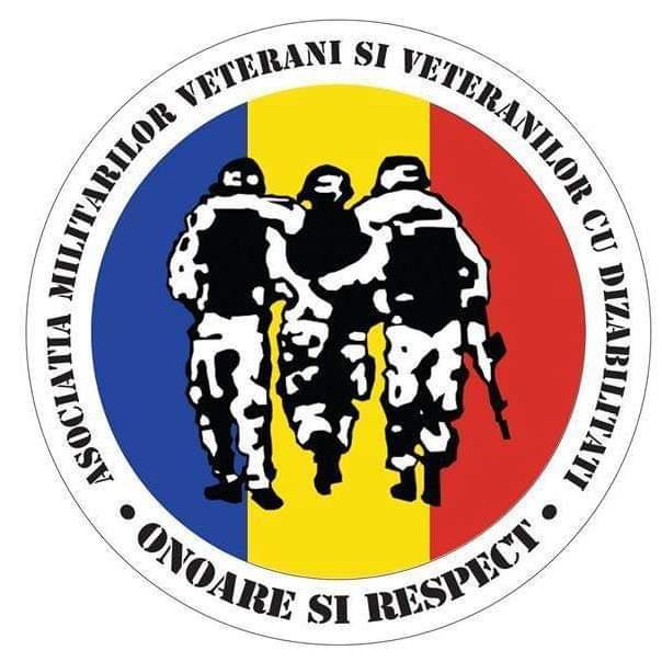 Asociația Militarilor Veterani și Veteranilor cu Dizabilități Sfântul Mare Mucenic Dimitrie-Izvorâtorul de Mir AMVVD logo