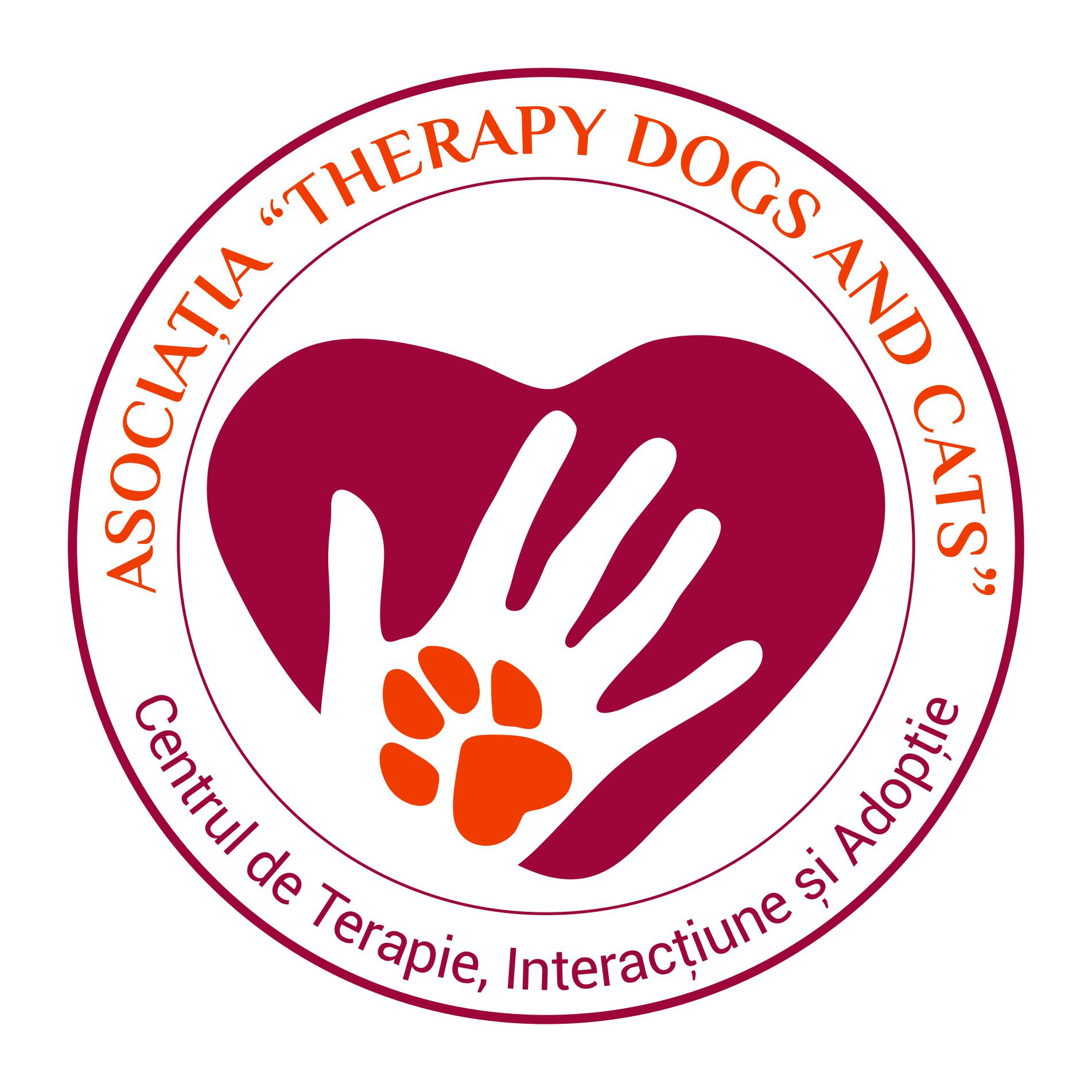 Therapy Dogs And Cats logo