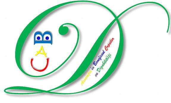 """Asociaţia """"A.B.C.D."""" - ASOCIAŢIA ÎN BENEFICIUL COPIILOR CU DIZABILITĂŢI logo"""