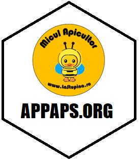 Asociația Pentru Protecția Albinelor și Polenizatorilor Sălbatici logo