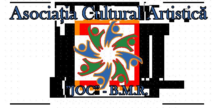 """ASOCIAȚIA CULTURAL ARTISTICĂ """"JOC"""" – B.M.R. logo"""