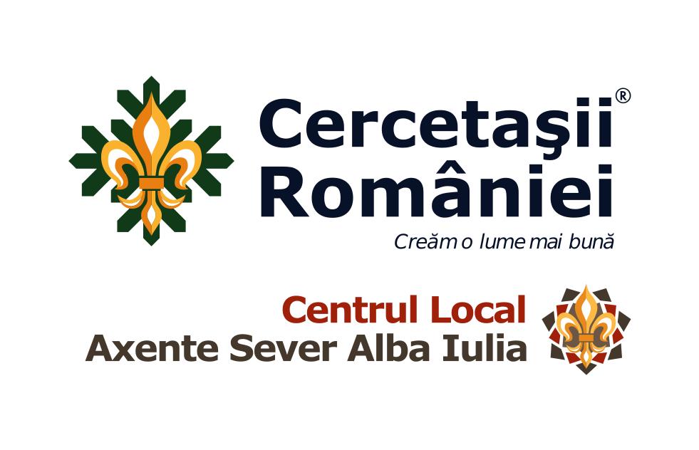 Asociația Centrul Local Axente Sever Alba Iulia - filială a Organizației Naționale Cercetașii României logo