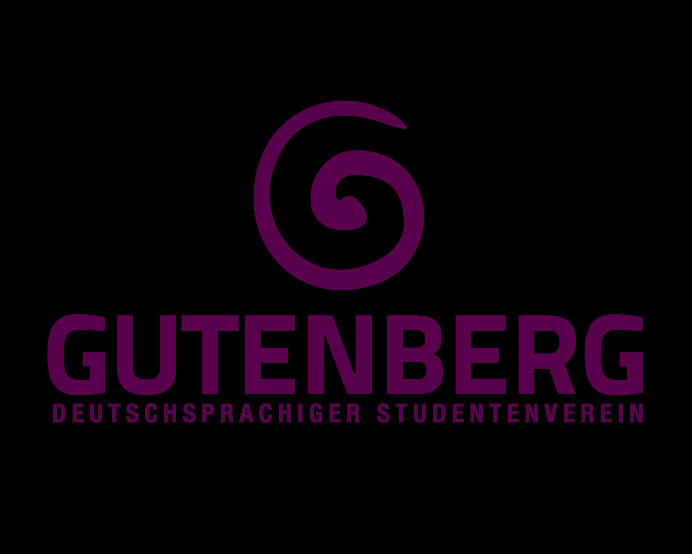 Asociatia Gutenberg- Organizatia studentilor vorbitori de limba germana logo