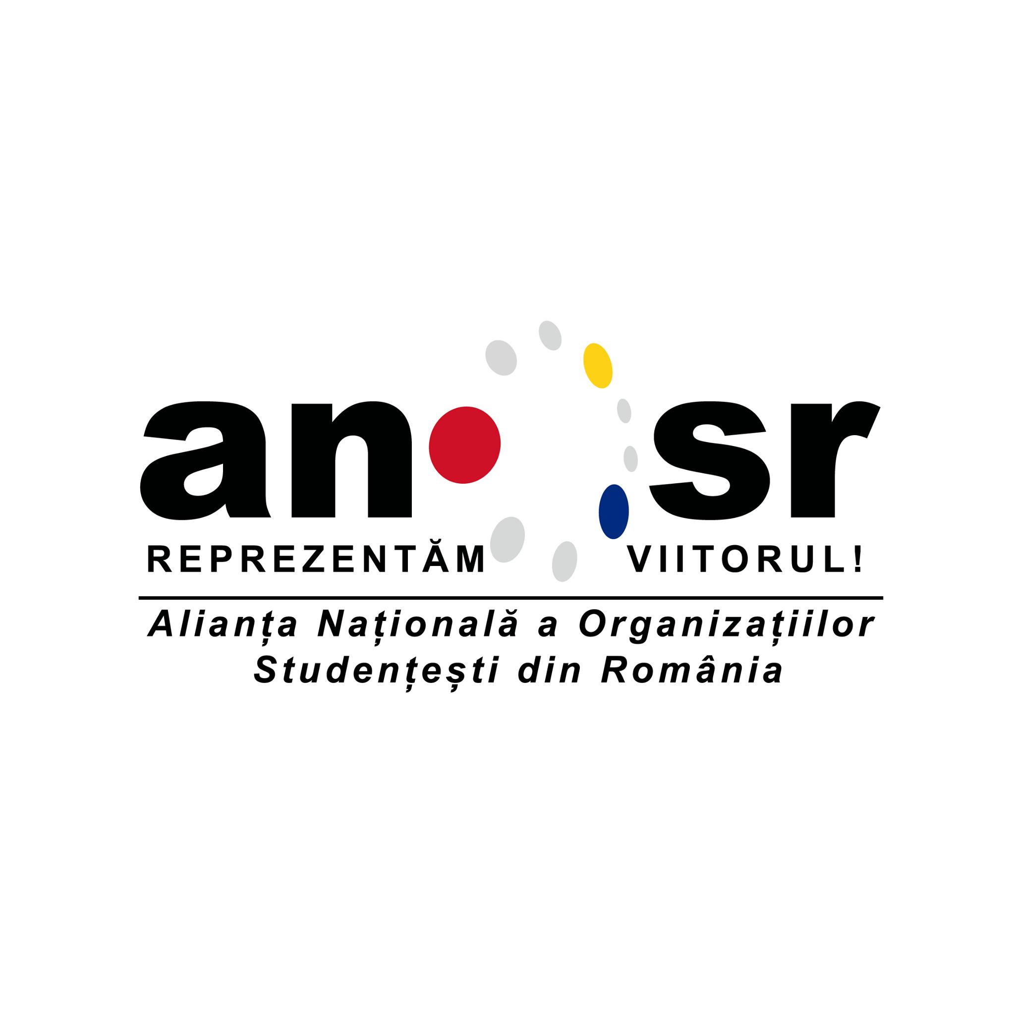 Alianța Națională a Organizațiilor Studențești din România (ANOSR) logo