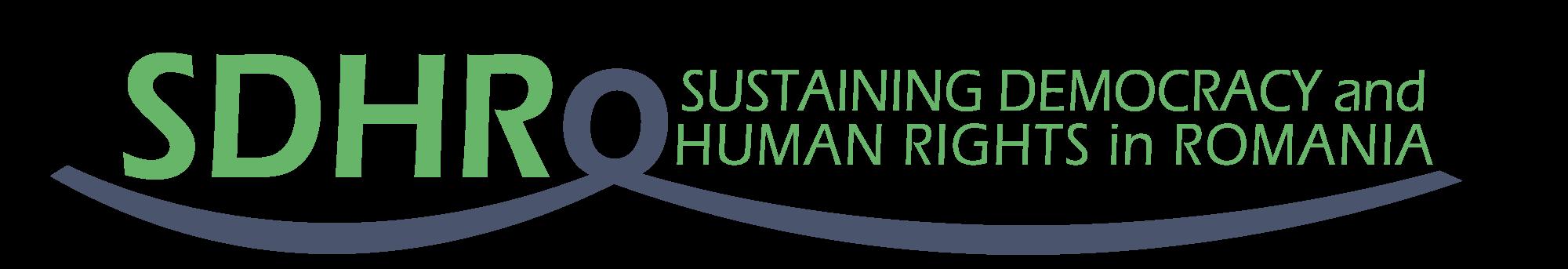 Asociația Sustaining Democracy and Human Rights in Romania logo