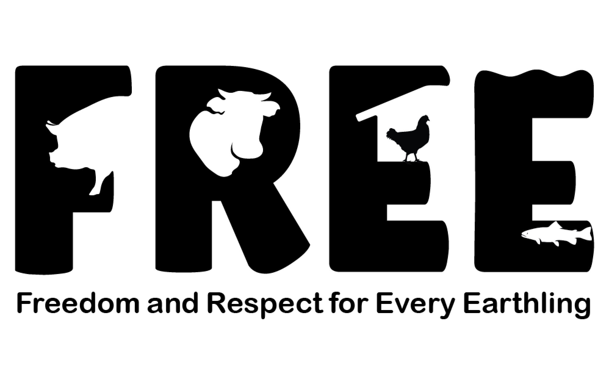 Asociația Freedom and Respect for Every Earthling (F.R.E.E.) logo