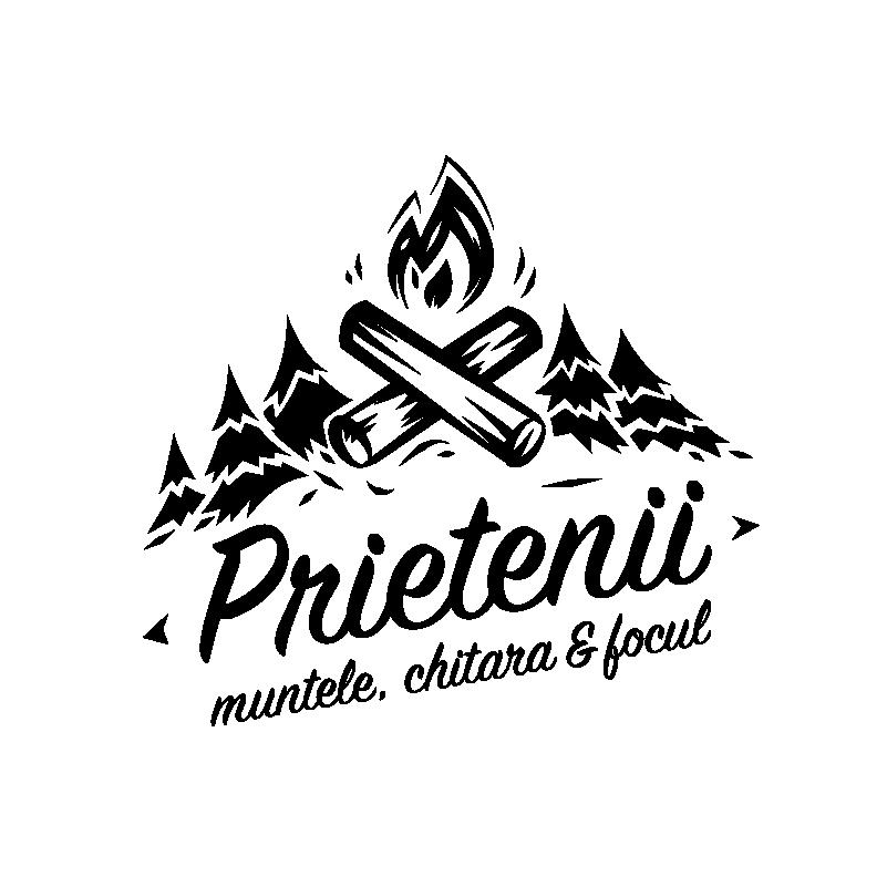 ASOCIATIA PRIETENII, MUNTELE, CHITARA & FOCUL logo