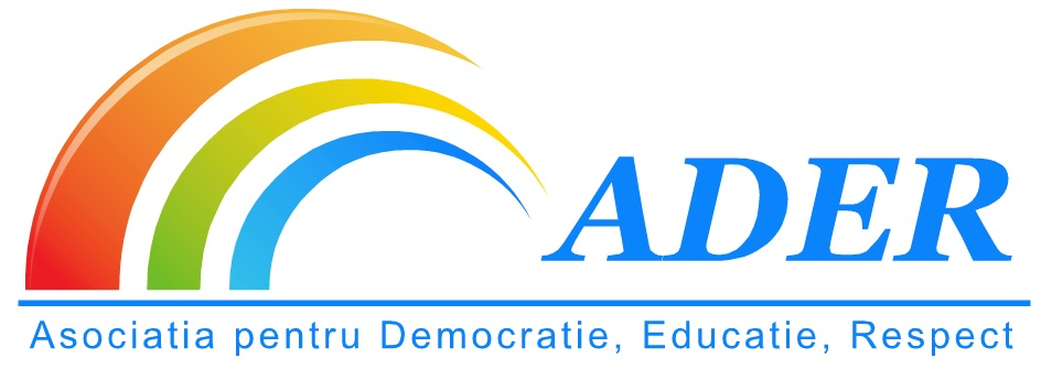 Asociatia pentru Democratie Educatie Respect logo
