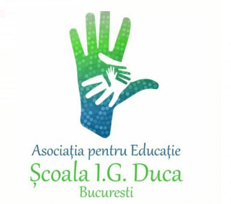 Asociatia pentru Educație Școala IG Duca Bucuresti logo