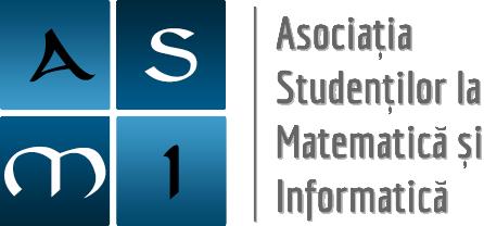 ASOCIAȚIA STUDENȚILOR LA MATEMATICĂ ȘI INFORMATICĂ logo