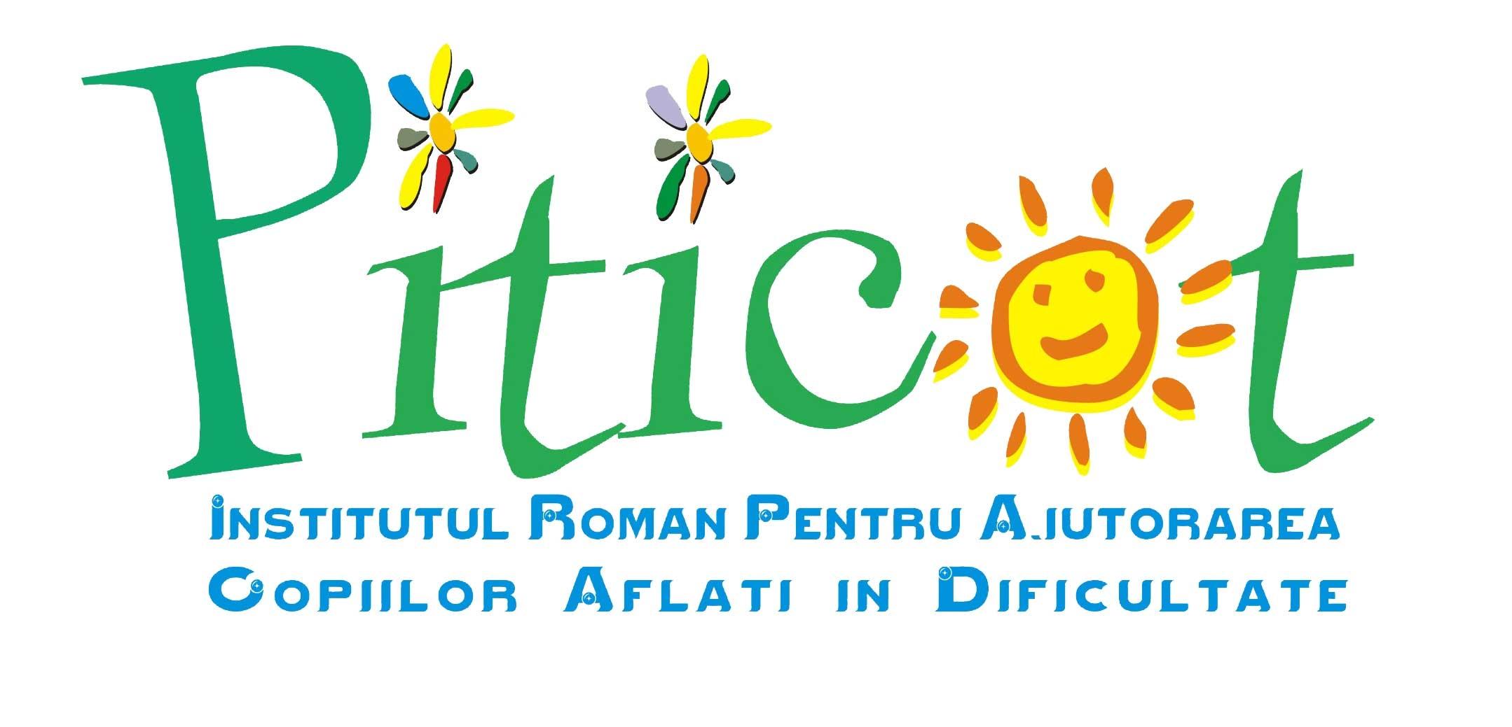 """Asociatia Institutul Roman pentru Ajutorarea Copiilor Aflati in Dificultate """"Piticot"""" logo"""