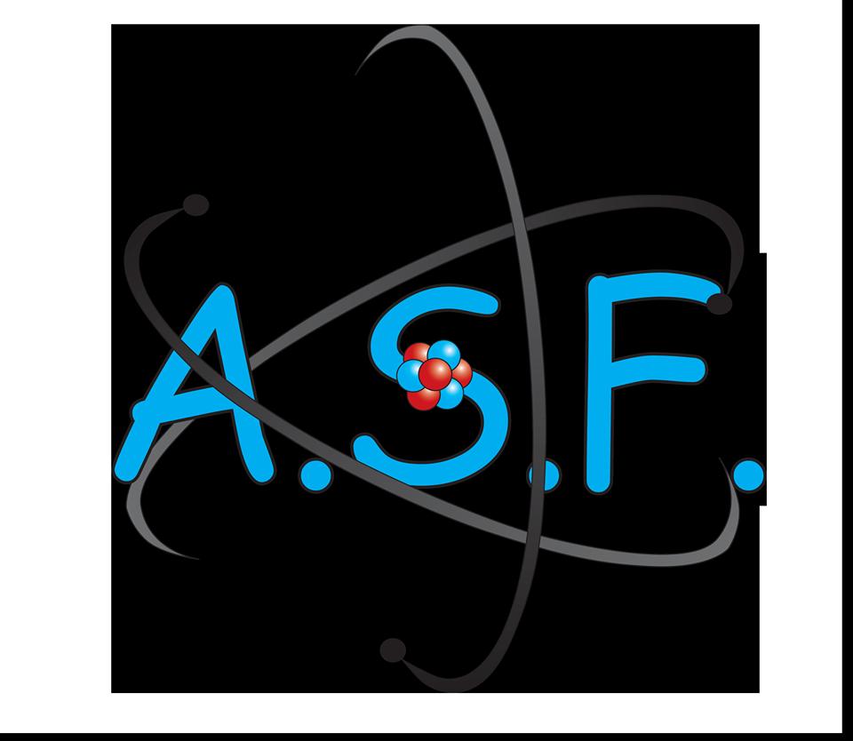 ASF-UB- Asociația Studenților Fizicieni a Universitatii București logo