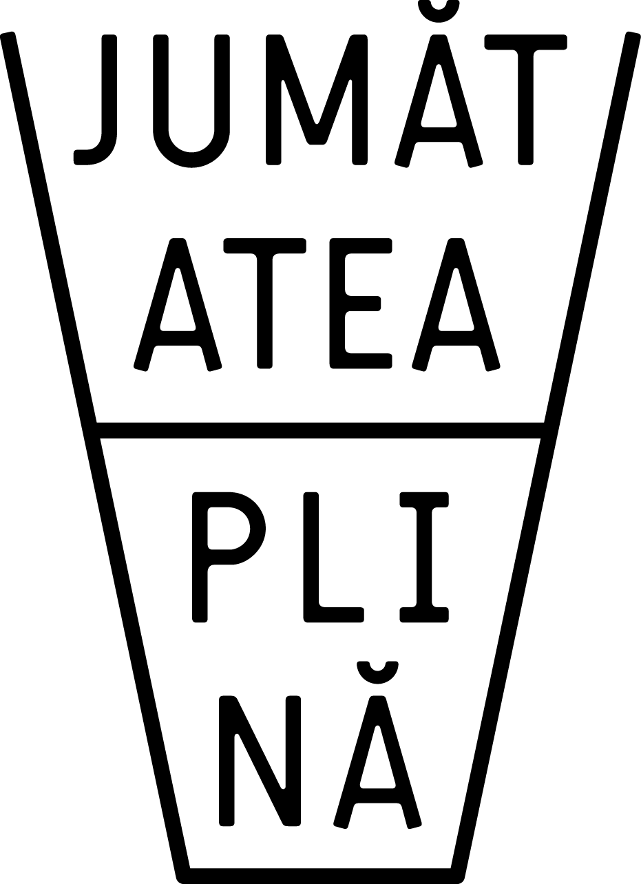Asociatia Jumatatea plina logo