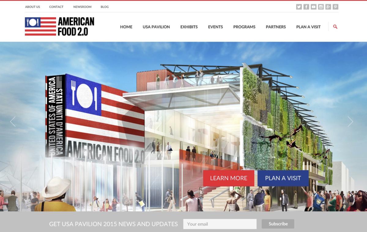Expo website desktop 1
