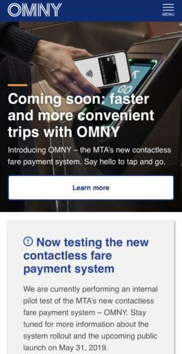 Omny website mobile 1