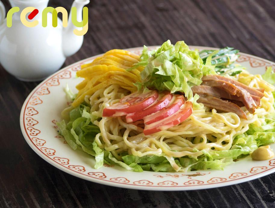 お野菜たっぷり「サラダ冷やし中華」by