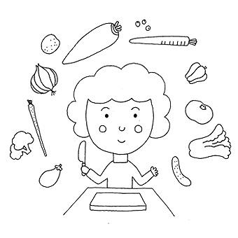 「手抜きの哲学」料理を楽しむ私のやり方