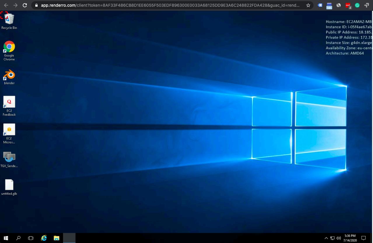 Connect to Virtual Desktop