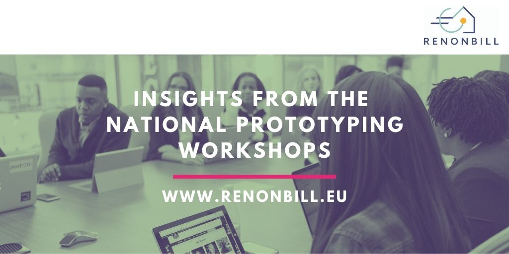 Insights from the first round of the national RenOnBill workshops