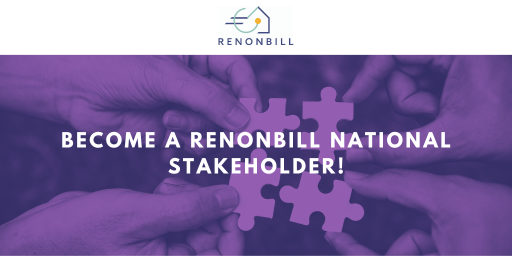 RenOnBill is calling upon stakeholders for its national platforms in Lithuania, Germany, Italy and Spain!
