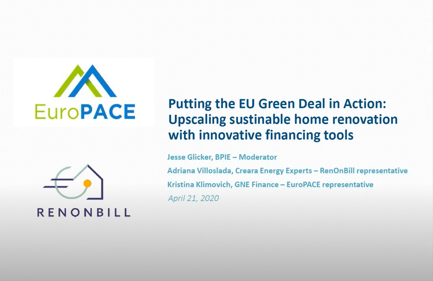 Did you miss the RenOnBill and EuroPACE webinar? The recordings are now available!