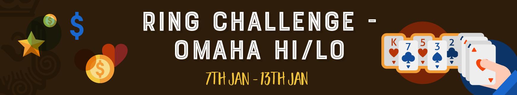 Ring Challenge - Omaha Hi/Lo · Replay Poker