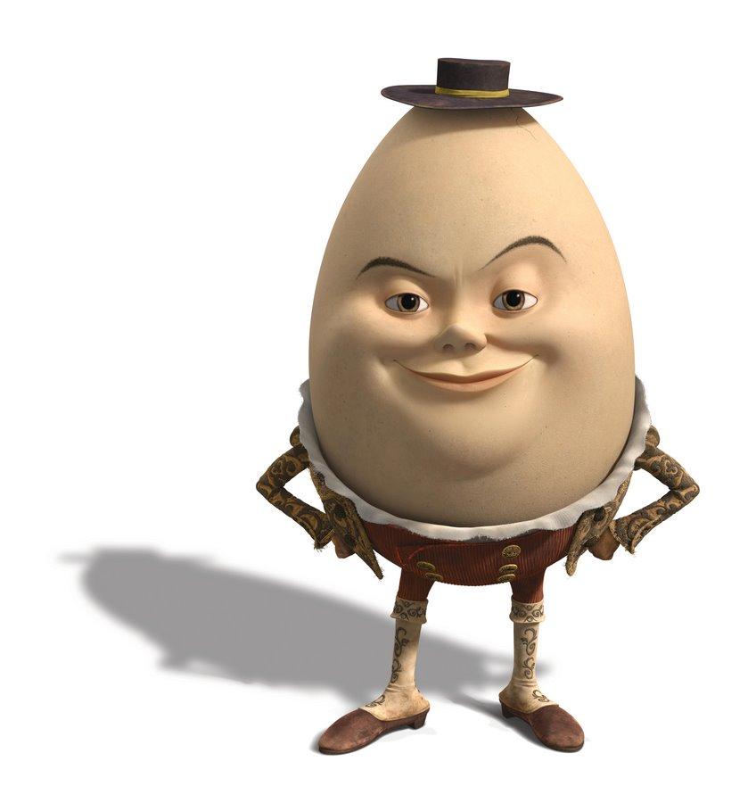 Humpty Dumpty Gestiefelter Kater