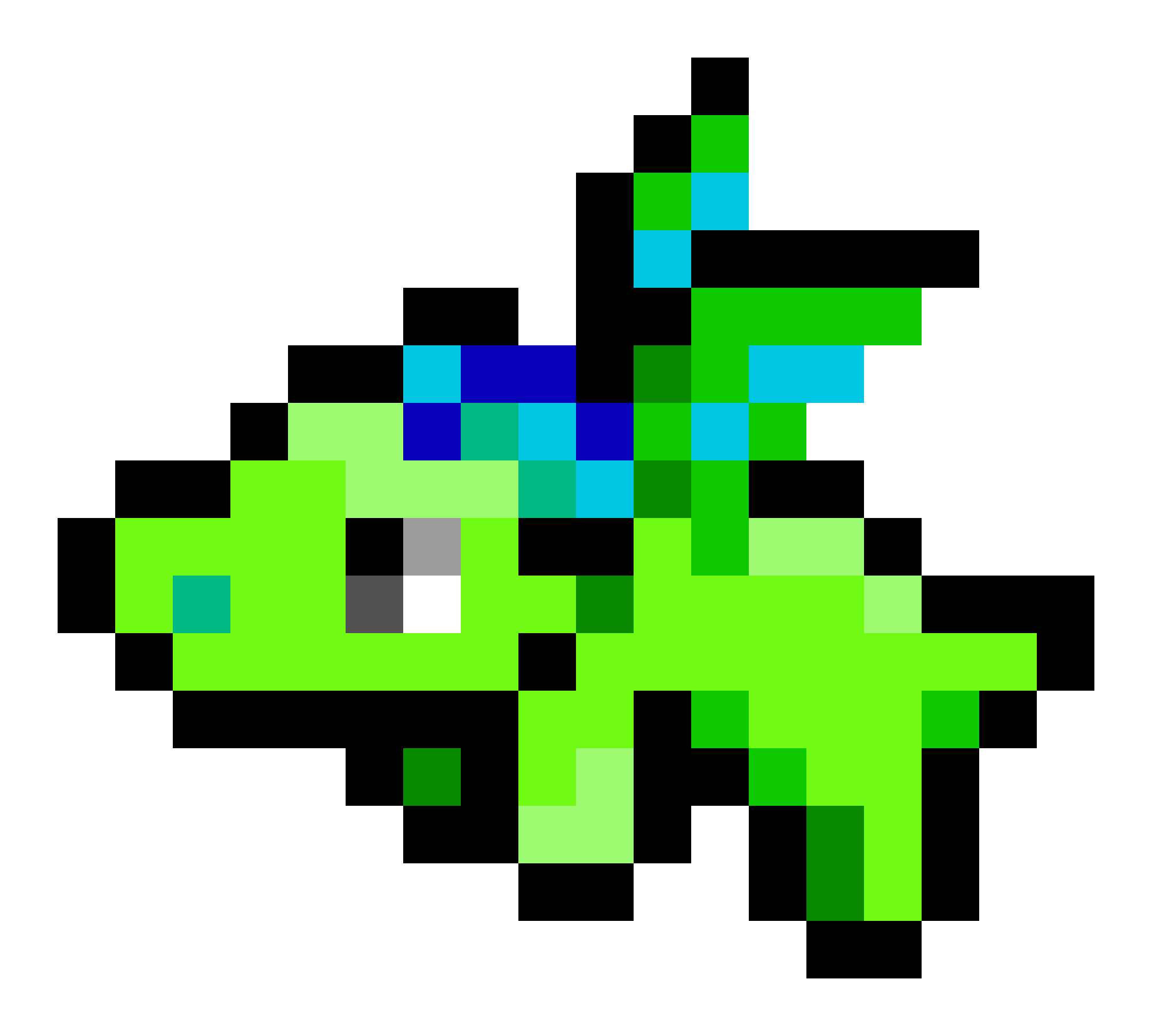 Repl It How To Draw Pixel Art On Python With Turtle