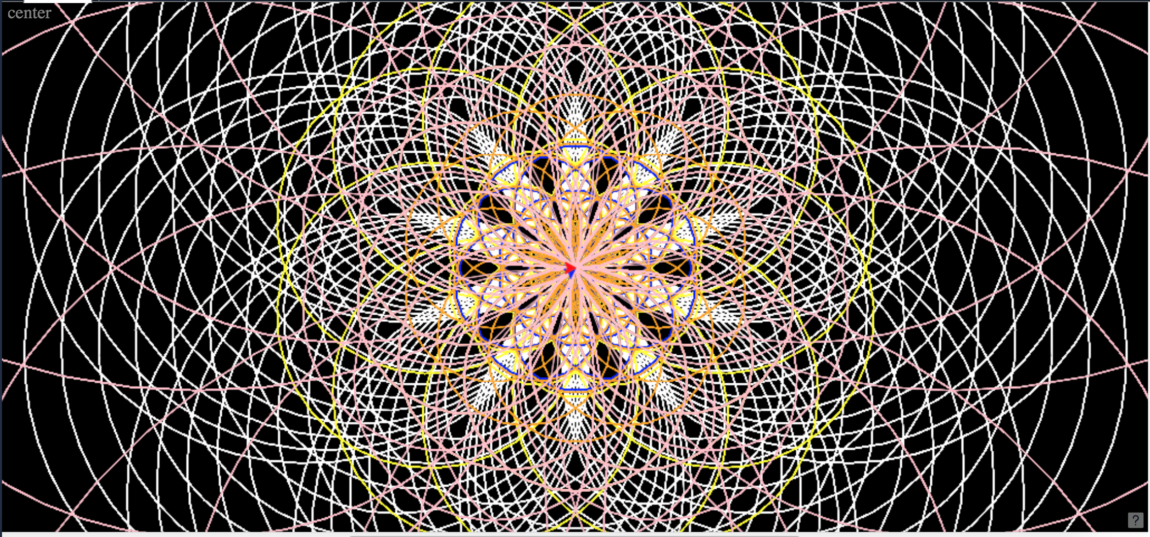 Repl it - Colorful Circle Spiral Generator Using Python Turtle