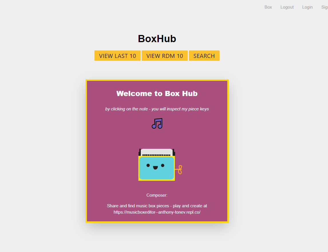 Repl it - 🎵 📦 Music Box Editor 📦 🎵