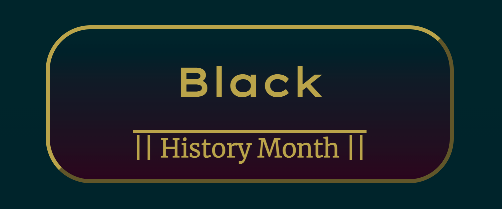 Black History Month (BHM) Website