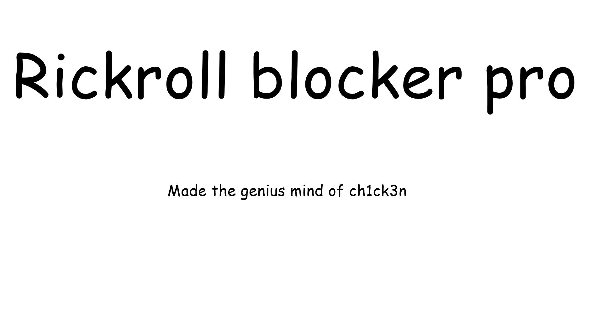 rickroll links database