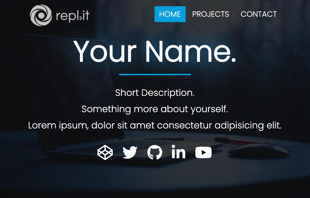 Portfolio Site Template