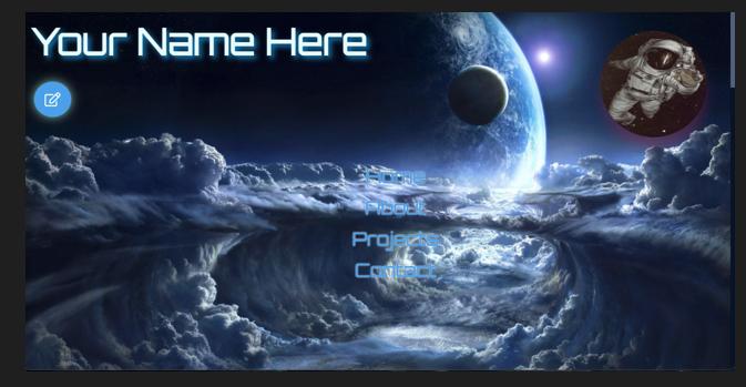 Portfolio Template Site