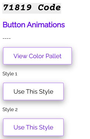 Button Animation