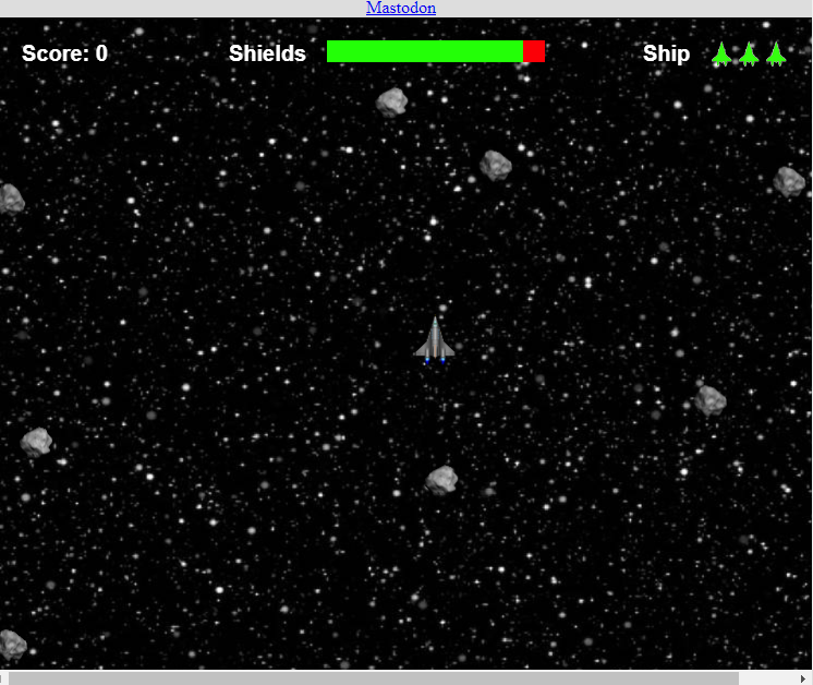 Asteroids 2084 Game