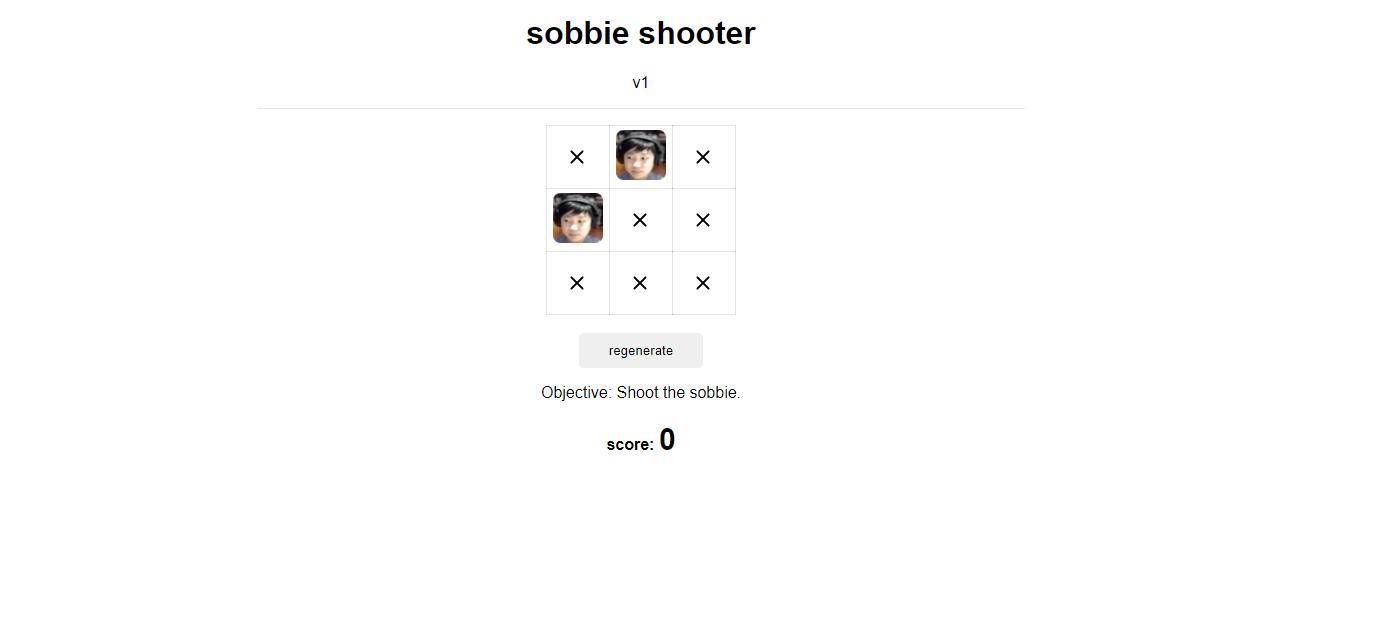sobbie shooter