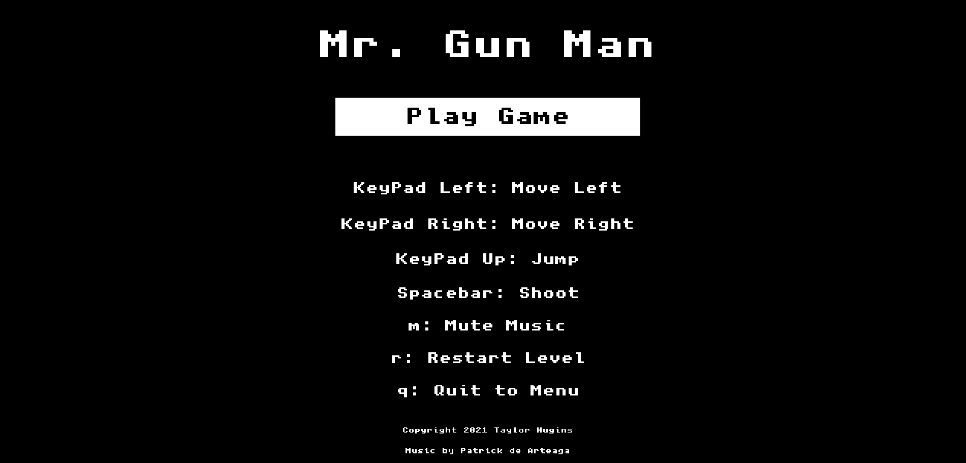 Mr. Gun Man