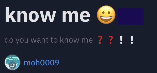 know me 😀