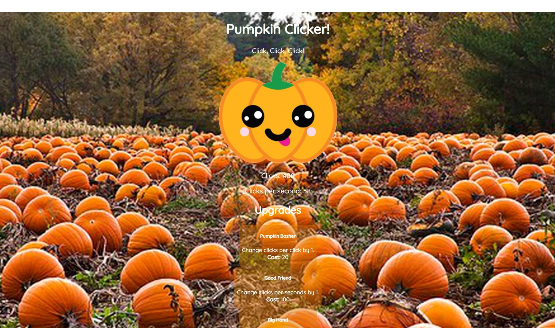 Pumpkin Clicker!