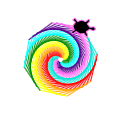 Rainbow Shape Draw